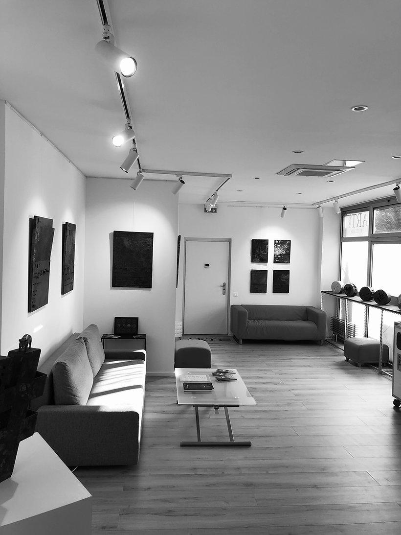 Art Thèmes Gallery-vue d'en haut-noire e