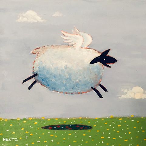 Flying Sheep.