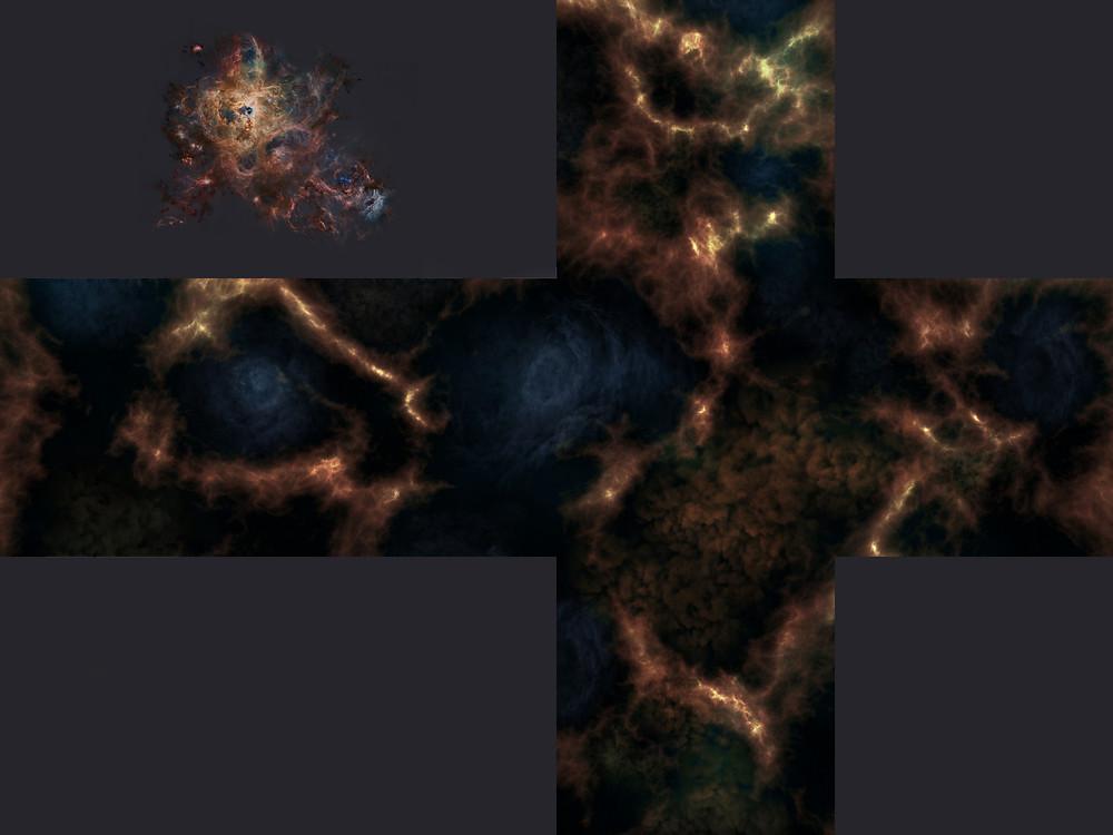 Tarantula Nebula Skybox