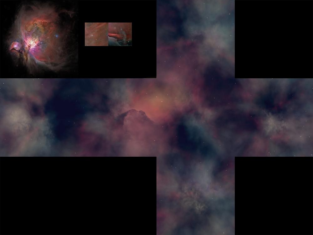 Orion Nebula Skybox