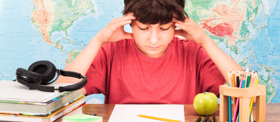 """""""At the school-face"""" Anxiety for your child at school by Dr. Norah Sweetman, PhD in Education."""