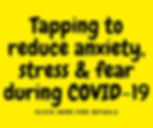 Tapping.ie - using tapping during COVID-