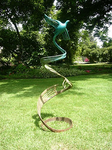 Ana Lazovsky Bronze Sculptures - abstracts