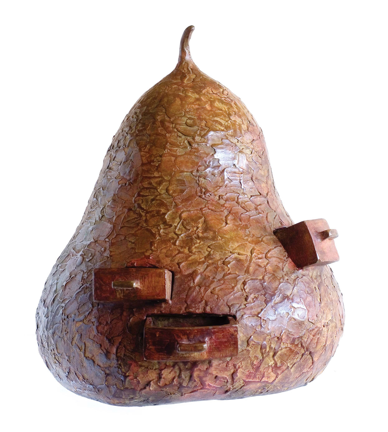 Pear with Drawers