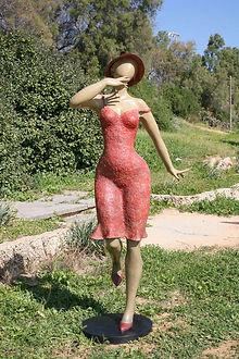 Ana Lazovsky Bronze Sculptures - outdoors