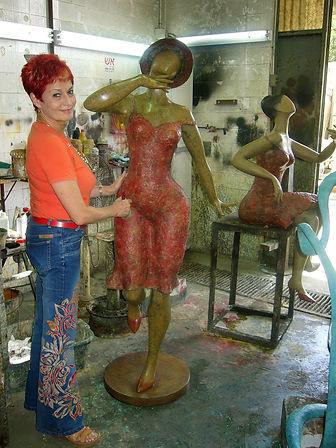 Ana Lazovsky at work
