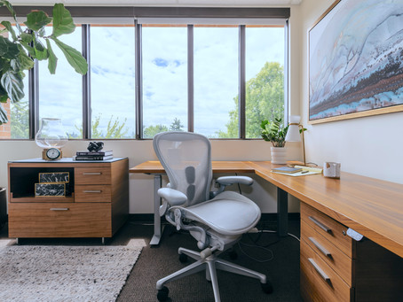 Design & Final Reveal: The NE Portland Therapy Office