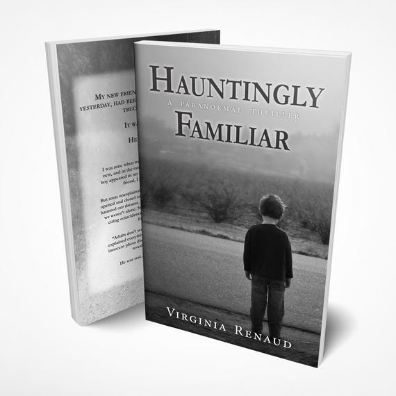Book Cover & Ebook Hauntingly Familiar