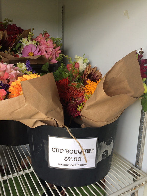 Cooler Cup Bouquet