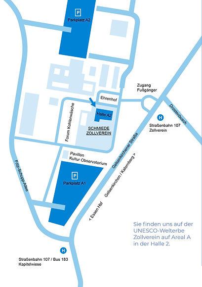 Wegbeschreibung Schmiede Zollverein GmbH