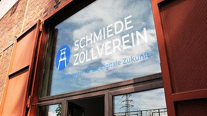 Schmiede Zollverein Eingang