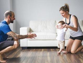 5 פעולות שיעזרו לילד להתחיל ללכת