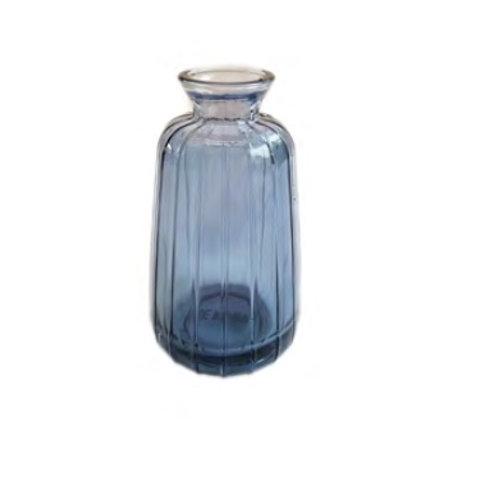 צנצנת זכוכית כחולה