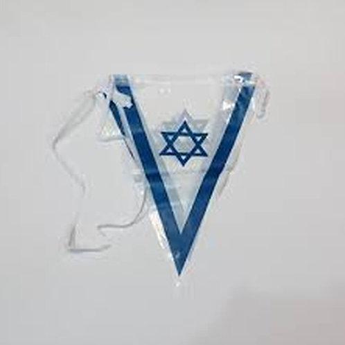 שרשרת משולשים ישראל בד 4 מטר