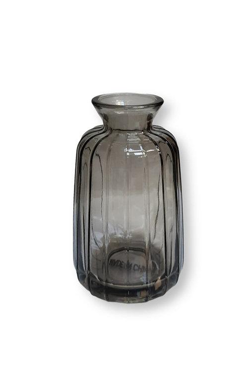 צנצנת זכוכית אפורה