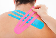 Kinesio Tape Nottingham available at Burton Joyce Osteopathy. Great for muscle strains and sports injury
