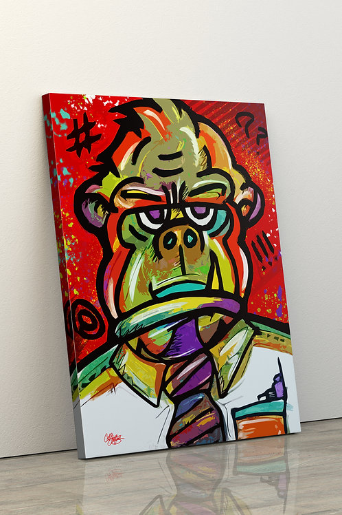"""Monkey Business"" By Cell Spitfire"