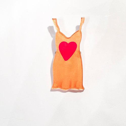 Pin Orange Dress