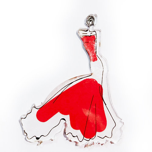 "Pin ""The red dress"""