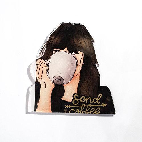 Pin Coffe