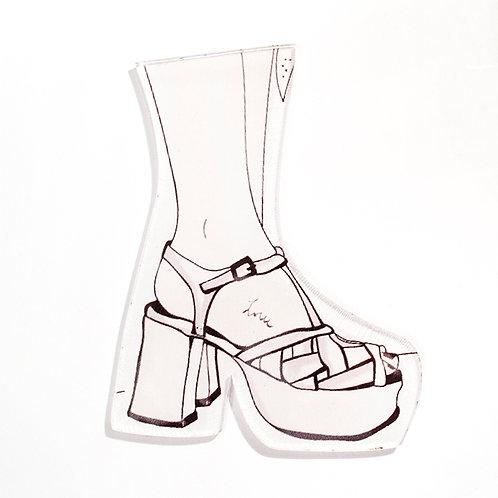 Pin Shoes