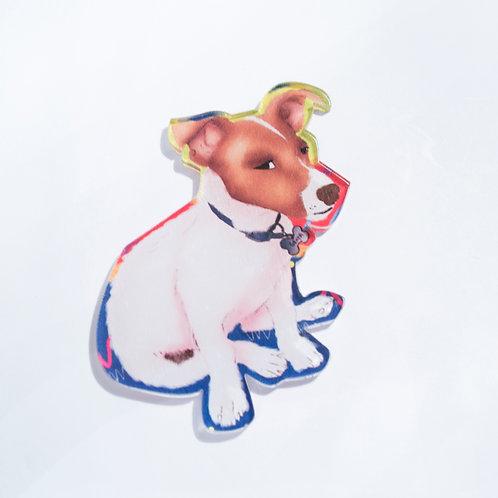 Pin Mask puppy