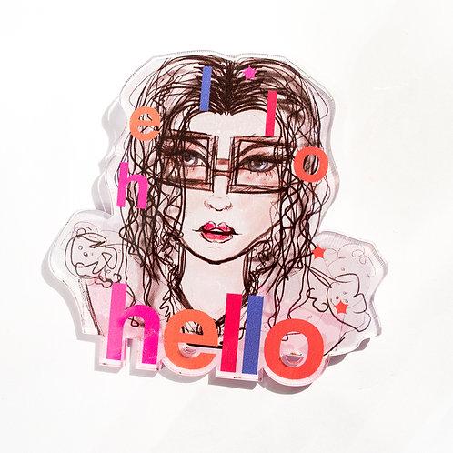Pin Hello