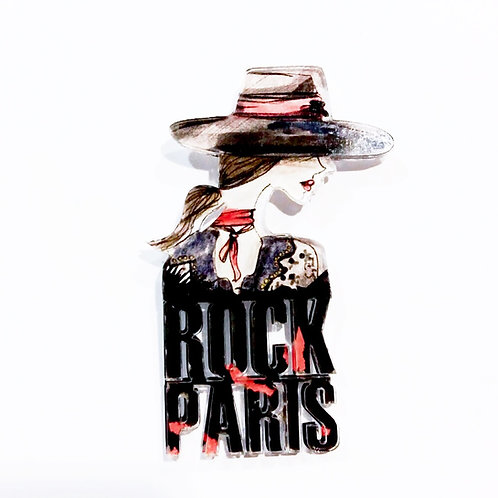 "Pin ""Rock Paris"""