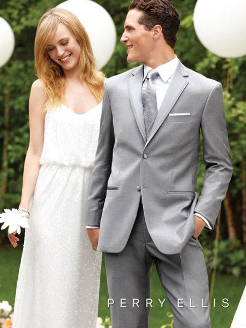 Perry Ellis Grey Suit