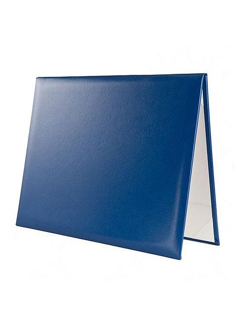 Royal Blue Diploma Cover