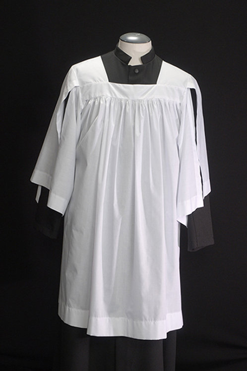 Organist Surplice With Square Neck And Split Sleeves