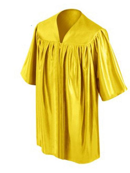 Gold Shiny Child Graduation Gown