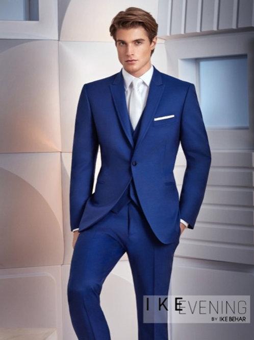 Ike Behar Greenwich Cobalt Blue