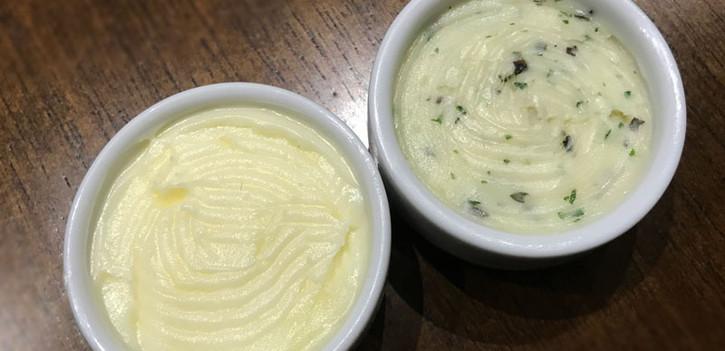 Manteigas (natural ou com ervas) (LEITE)