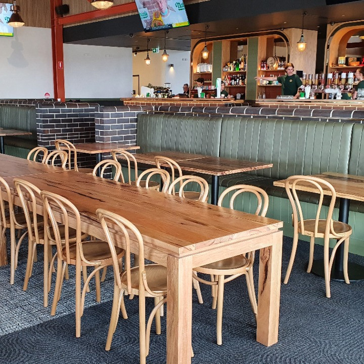 Solid timber tables