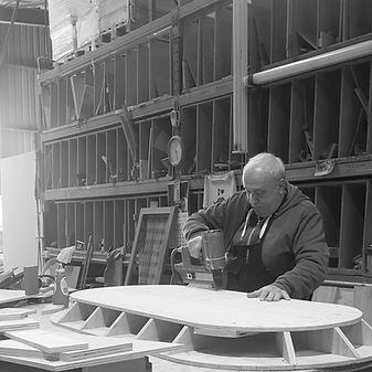Furniture manufacturing timber workshop