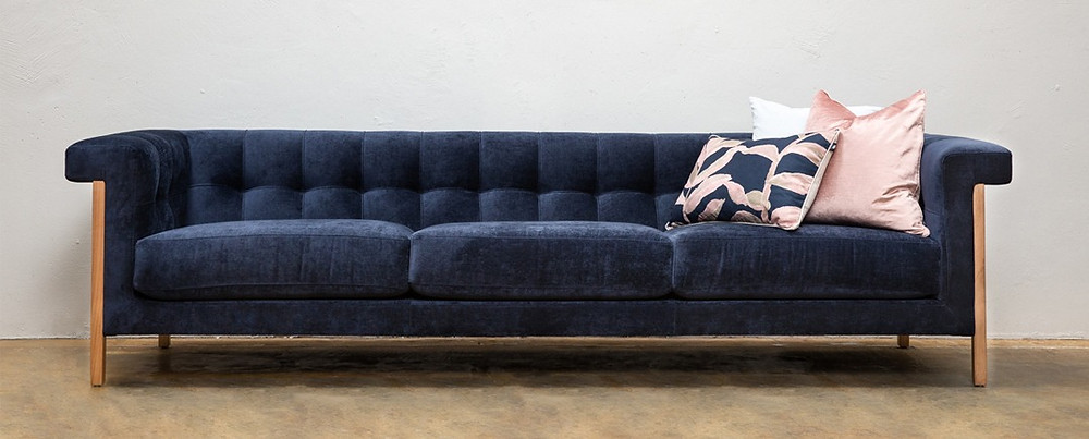 Mies sofa. Designed and manufactured by Artifex Australia.