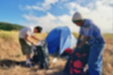 Copy of Lifeschool kids Setting up camp