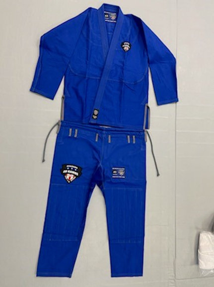 Blue Adult Branded Competition Gi