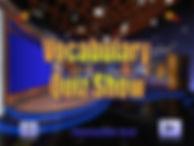 The Vocabulary Quiz Game Show - Intermed