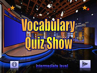 The Vocabulary Quiz Game Show - Intermed
