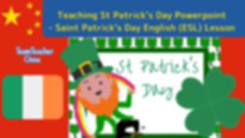 Saint Patrick's Day powerpoint lesson