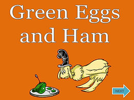 green eggs and ham ESL powerpoint ppt story