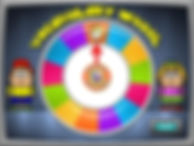 The Vocabulary Wheel of English Game Sho
