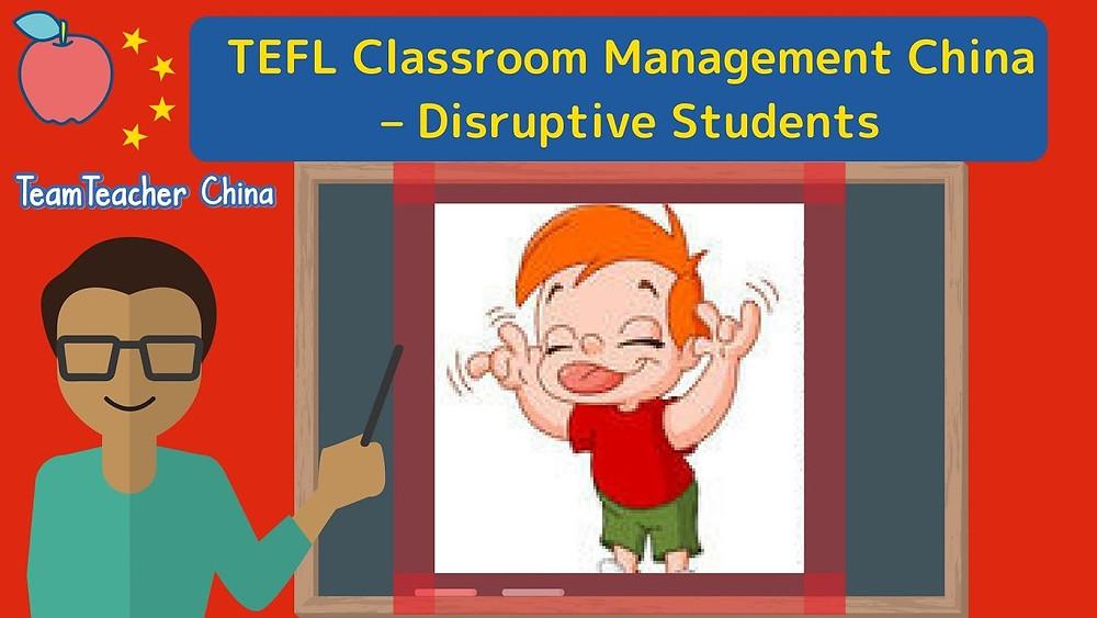 disruptive badly-behaved students