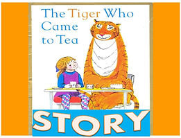tige ESL powerpoint ppt story who came to tea