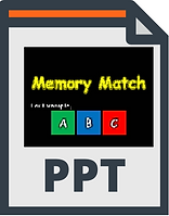 powerpoint ppt memory match game template