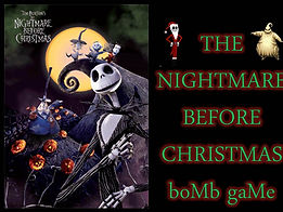 Nightmare Before Christmas powerpoint ppt Bomb Game