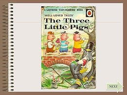 three little pigs ESL powerpoint ppt story