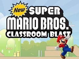 Super Mario Classroom Blast  powerpoint ppt Bomb Game